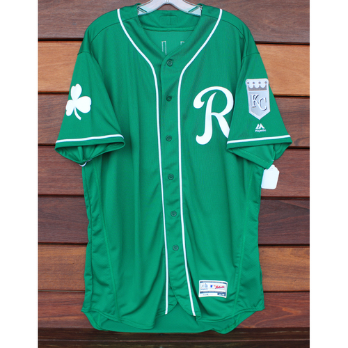 Team-Issued St. Patrick's Day Jersey: Chase Vallot (Size - 48)