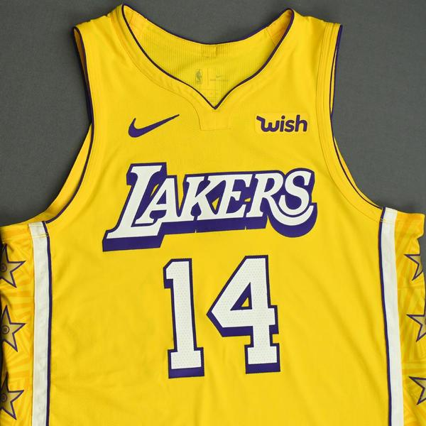 Danny Green - Los Angeles Lakers - Christmas Day' 19 - Game-Worn ...