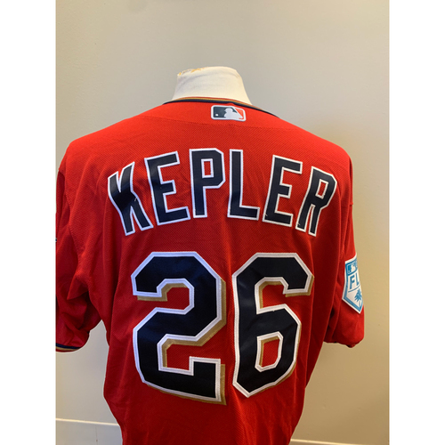 Photo of Minnesota Twins - 2019 Game-Used Spring Training Jersey - Max Kepler