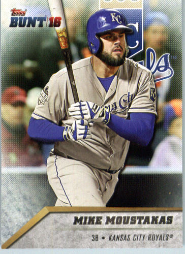 Photo of 2016 Topps Bunt #97 Mike Moustakas
