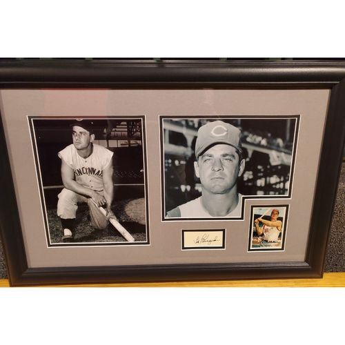 Photo of Framed Ted Kluzsewsi