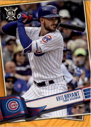 Photo of 2019 Topps Big League Gold #160 Kris Bryant