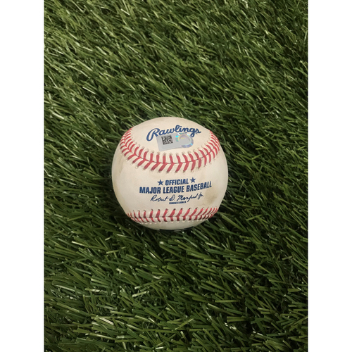Photo of Juan Soto RBI Double Baseball - 8/5/2020