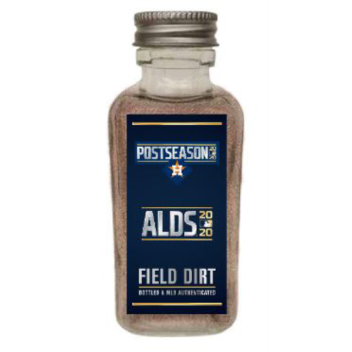 Photo of Game-Used Dirt Jar - 2020 ALDS - Houston Astros v. Oakland Athletics - Game 4 - Astros Clinch Spot in the ALCS