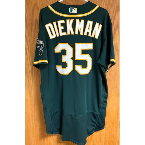 Photo of Jake Diekman Game-Used 2020 Regular & Postseason Jersey