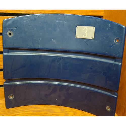 Photo of Fenway Park Section 33 Blue Seatback #3