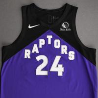 Khem Birch - Toronto Raptors - Game-Worn Earned Edition Jersey - 2020-21 NBA Season