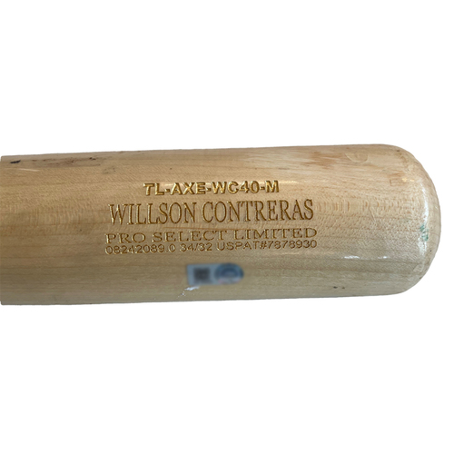 Photo of Willson Contreras Team-Issued Cracked Bat -- 2021 Season