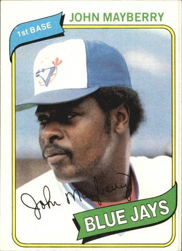 Photo of 1980 Topps #643 John Mayberry