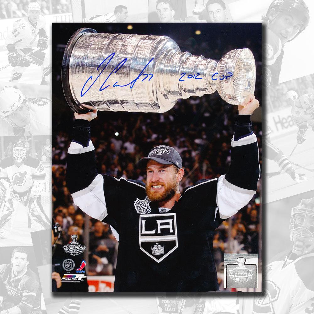 Jeff Carter Los Angeles Kings Autographed 8x10 w/ 2012 Cup Inscription