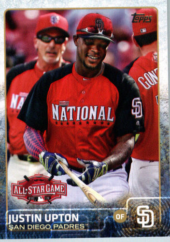 Photo of 2015 Topps Update #US273 Justin Upton