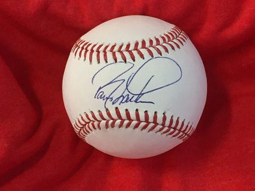 Barry Larkin Autographed Baseball