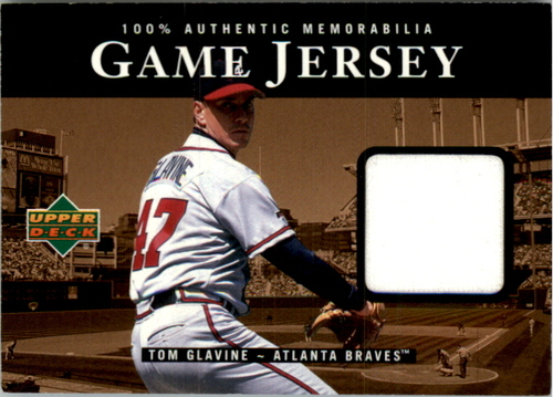 Photo of 2000 Upper Deck Game Jersey #TGL Tom Glavine HR2