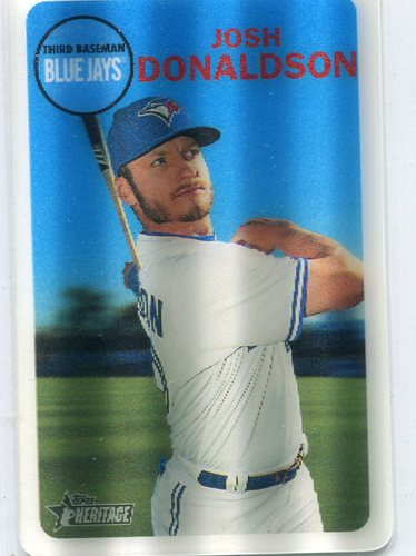 Photo of 2017 Topps Heritage 3D  Josh Donaldson