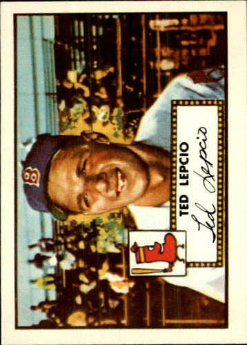Photo of 1983 Topps 1952 Reprint #335 Ted Lepcio