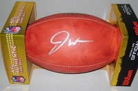 NFL - 49ERS JOE WILLIAMS SIGNED AUTHENTIC FOOTBALL