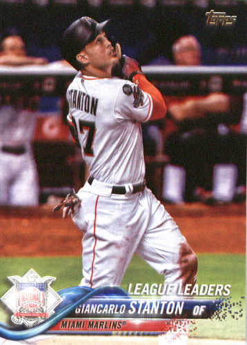 Photo of 2018 Topps #64 Giancarlo Stanton LL