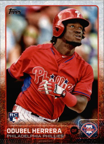 Photo of 2015 Topps #687 Odubel Herrera Rookie Card