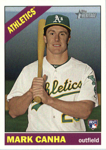 Photo of 2015 Topps Heritage #642 Mark Canha RC
