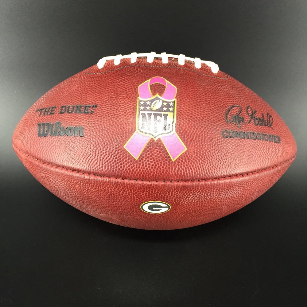 PCF - Packers HaHa Clinton-Dix Signed and Game Used BCA Football