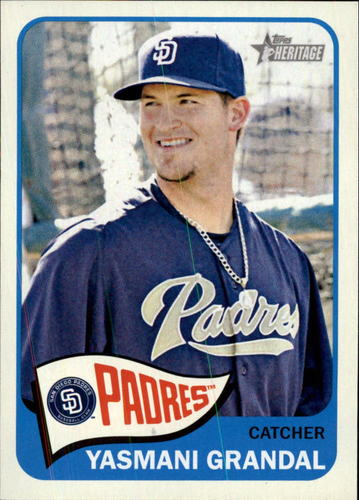 Photo of 2014 Topps Heritage #375 Yasmani Grandal