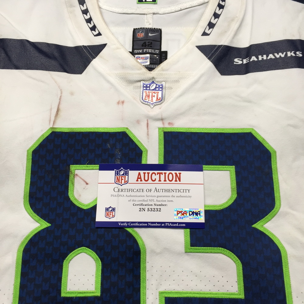 buy popular 8dac2 6e9f0 NFL Auction | NFL - Seahawks David Moore London Games Game ...