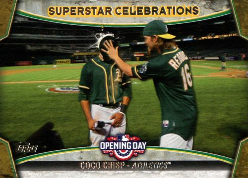 Photo of 2015 Topps Opening Day Superstar Celebrations #SC21 Coco Crisp