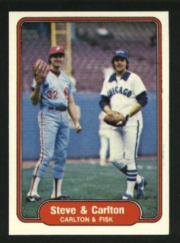 Photo of 1982 Fleer #632 Steve Carlton/Carlton Fisk