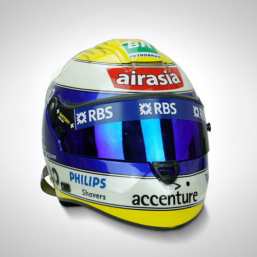 Photo of Nico Rosberg 2007 Race-used Helmet