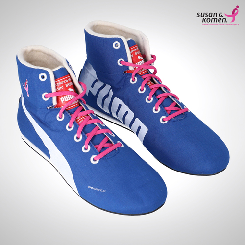 Photo of Valtteri Bottas 2017 US Grand Prix Race Boots - Supporting the Susan G.Komen ...