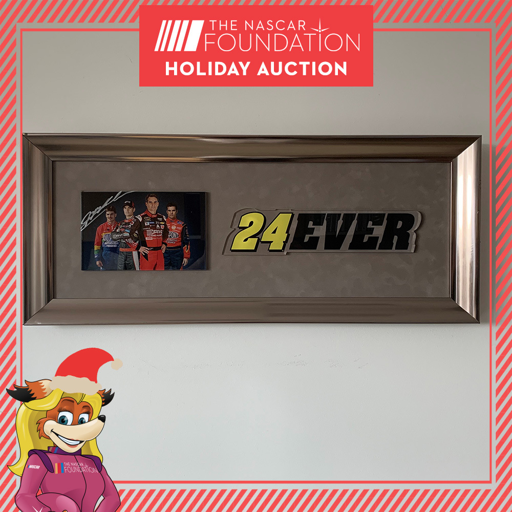 NASCAR's Jeff Gordon Autographed Framed Photo