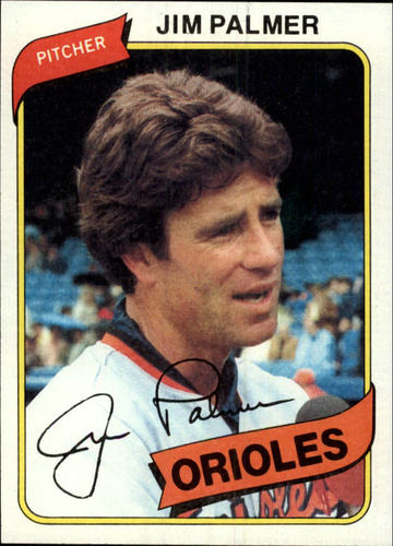 Photo of 1980 Topps #590 Jim Palmer
