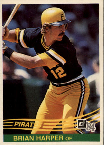 Photo of 1984 Donruss #142 Brian Harper RC