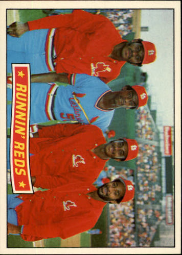 Photo of 1984 Donruss #625 Runnin'  Redbirds/David Green/Willie McGee/Lonnie Smith/Ozzie Smith