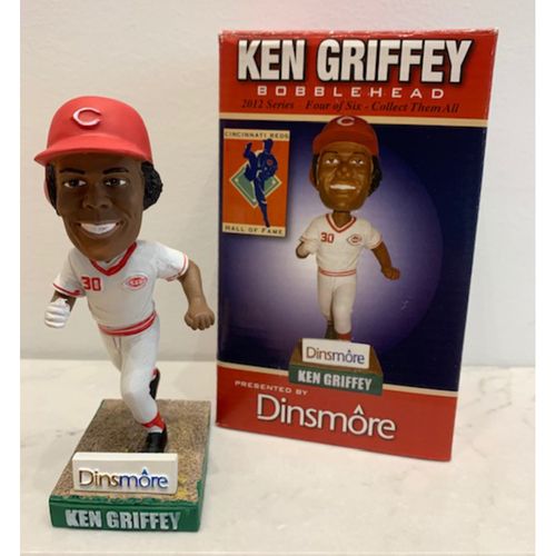 Photo of 2012 Hall of Fame Series - Ken Griffey Autographed Bobblehead
