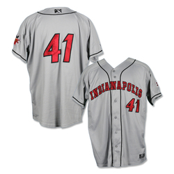 Photo of #41 Bryan Hickerson Game Worn Road Jersey