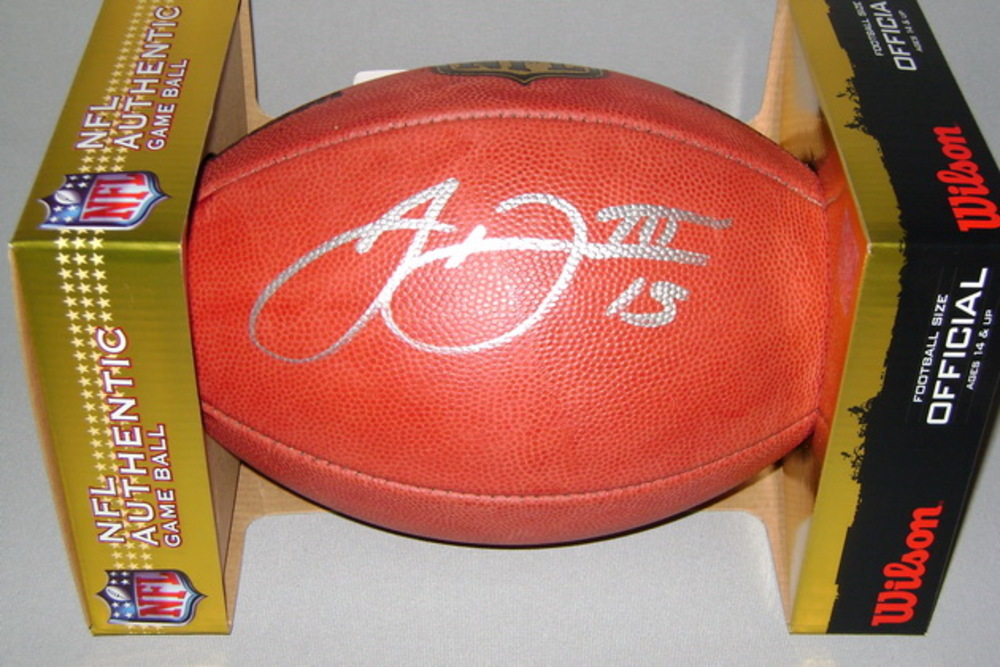 NFL - BENGALS JOHN ROSS SIGNED AUTHENTIC FOOTBALL