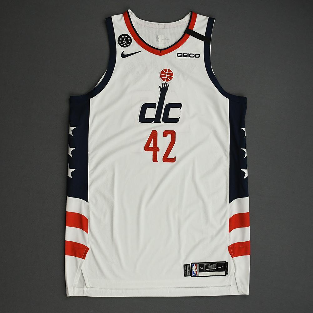 Davis Bertans - Washington Wizards - 2020 MTN DEW 3-Point Contest - Event-Worn City Edition Jersey