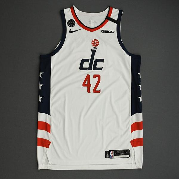 Image of Davis Bertans - Washington Wizards - 2020 MTN DEW 3-Point Contest - Event-Worn City Edition Jersey