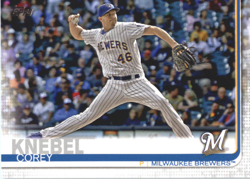 Photo of 2019 Topps #554 Corey Knebel