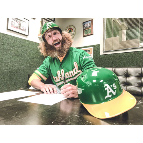 Photo of Oakland A's Community Fund: Personalized Recording from Dallas Braden