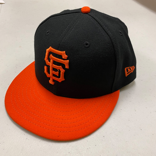 Photo of 2020 Cyber Monday Sale - 2019 Game Used and Team Issued Alternate Orange-Bill Caps - SELECT YOUR SIZE - Cap Chosen at Random