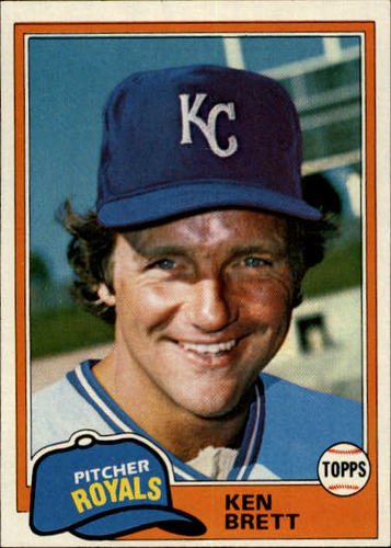 Photo of 1981 Topps #47 Ken Brett