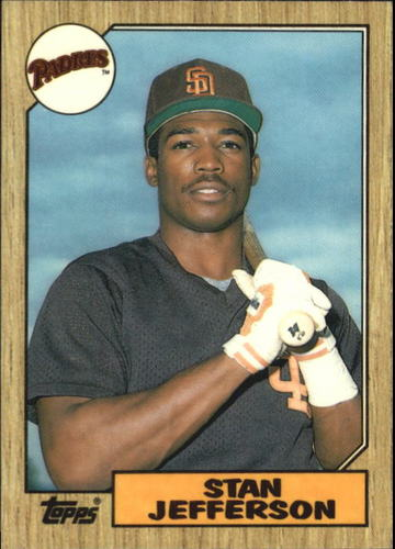Photo of 1987 Topps Traded Tiffany #55T Stan Jefferson