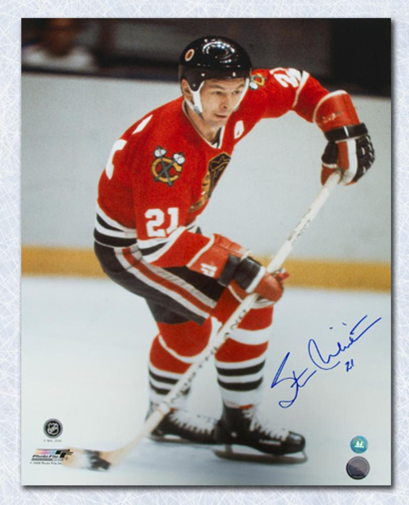 91abf00cb07 Stan Mikita Chicago Blackhawks Autographed Hockey Legend 16x20 Photo ...