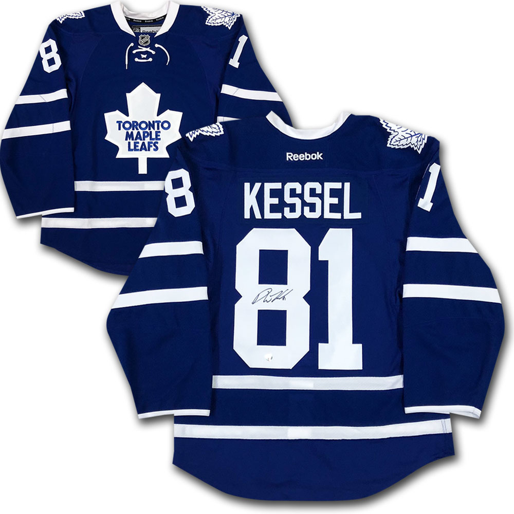 Phil Kessel Autographed Toronto Maple Leafs Authentic Pro Jersey