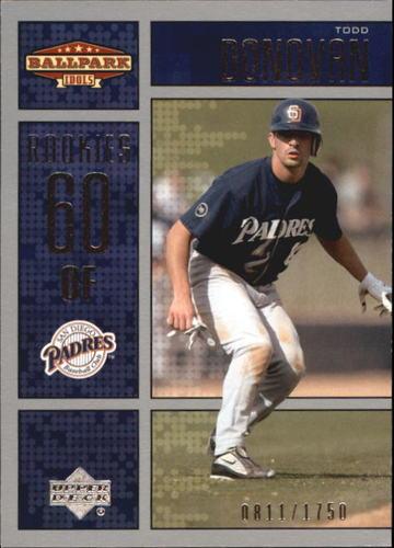 Photo of 2002 Upper Deck Ballpark Idols #230 Todd Donovan ROO RC