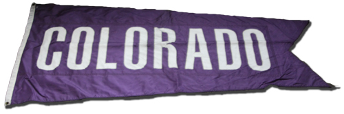 Wrigley Field Collection -- Rooftop Flag -- Colorado