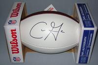 NFL - BUCCANEERS CHRIS GODWIN SIGNED PANEL BALL