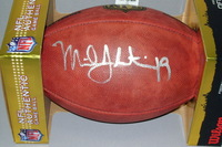EAGLES - MILES AUSTIN SIGNED AUTHENTIC FOOTBALL